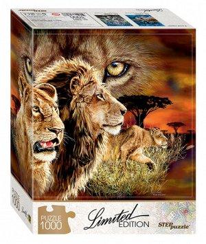 Пазлы 1000 Найди 10 львов