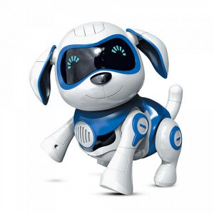 """Интерактивная игрушка Mioshi Active """"Милый щеночек:синий"""" (10 см, свет, звук, подвиж.,)"""
