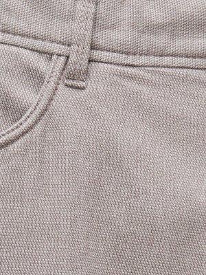 Брюки из текстурированной ткани