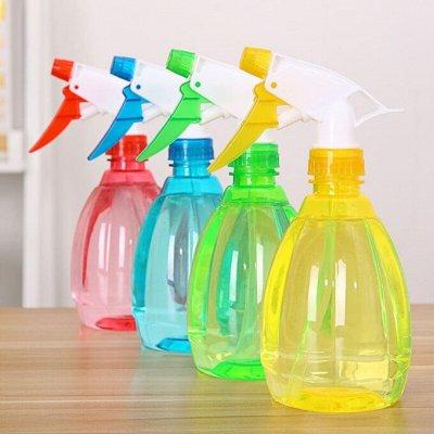 Удобная закупка. Все в одном месте, швабры, канц.товары .... — Бутылка с распылителем для воды пластиковая!👌✔ — Для дома