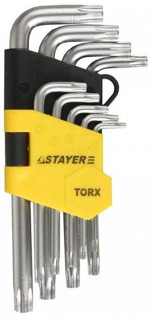 """Набор STAYER """"MASTER"""": Ключи имбусовые короткие"""