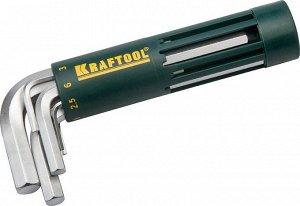 Набор KRAFTOOL: Ключи имбусовые короткие