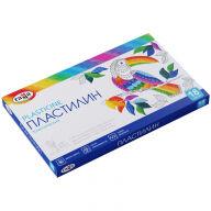 """Пластилин Гамма """"Классический"""", 18 цветов, 360г, со стеком, картон. упак."""