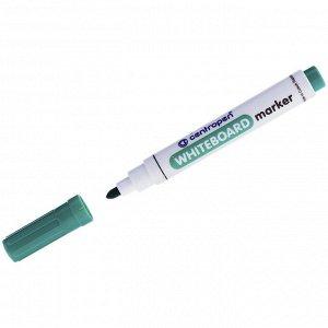 """Маркер для белых досок Centropen """"8559"""" зеленый, пулевидный, 2,5мм"""