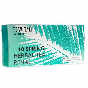 TeaVitall Express Spring 10, 30 фильтр-пакетов