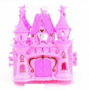 Замок для кукол, в сетке 15*14*6 см.арт.ZY950630