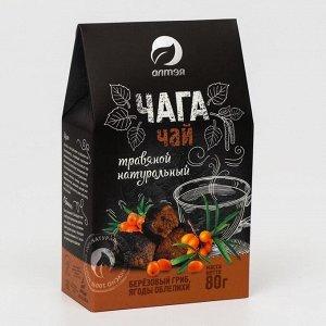 Чайный напиток «Фиточай чага с облепихой», 80 г
