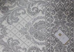 Покрывало гобеленовое двухстороннее IKRA (160*240) c наволочками серый