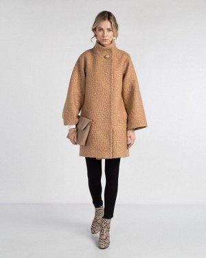 Пальто жен. (006049) бежевый
