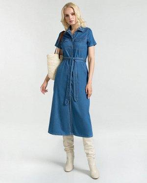 Платье жен. (000040) Синий