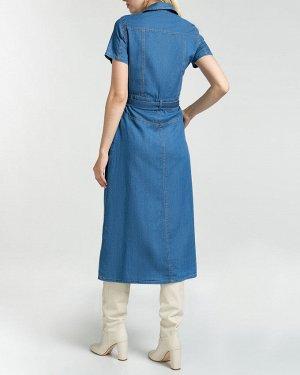 Платье жен. (000040)Синий