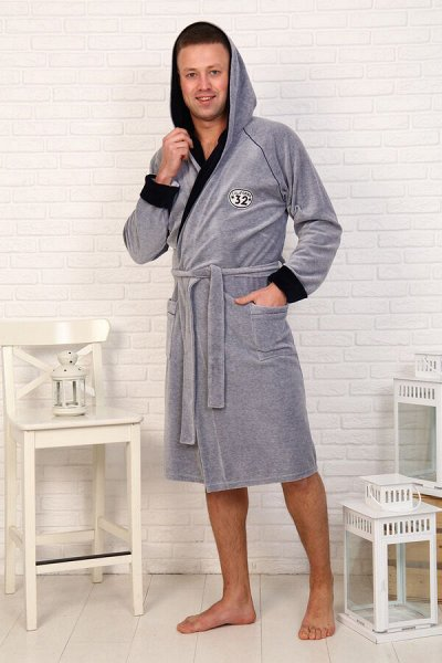 Натали.Трикотаж для всей семьи, домашний текстиль,носки. — Мужской трикотаж Berchelli.Халаты — Повседневные платья