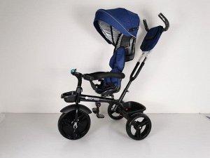 Велосипед 3-х колесный  GOLF TRIKE LTE-656 (1/1) синий