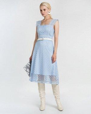 Платье жен. (006013) светло-голубой