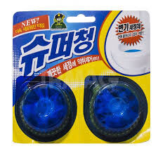 Очиститель для унитаза Super Chang 40 г х 2 шт. /80