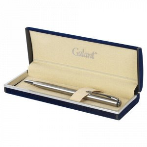 """Ручка подарочная шариковая GALANT """"Arrow Chrome"""", корпус серебристый, хромированные детали, пишущий узел 0,7 мм, синяя, 140408"""