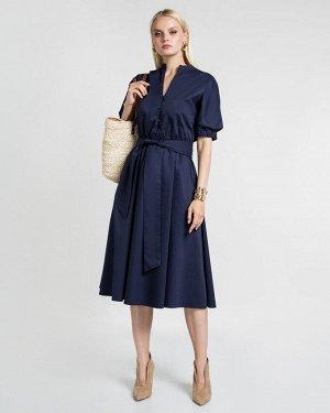 Платье жен. (193920) темно-синий