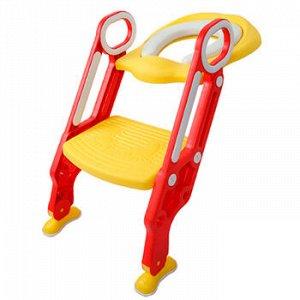 Сиденье-накладка для унитаза со ступенькой ST SM-HS3120/RY детское