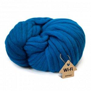 Пряжа крупная Wi-Fi. Цвет: мидия