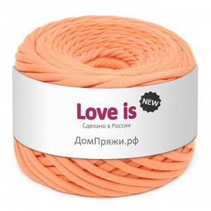 Трикотажная пряжа Love is NEW. Цвет: спелый персик