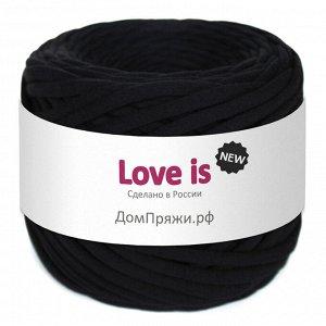 Трикотажная пряжа Love is NEW. Цвет: черный