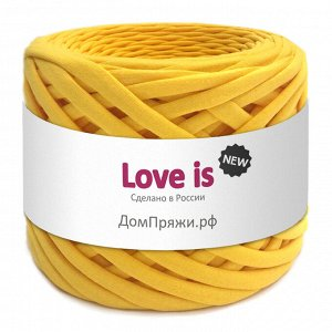 Трикотажная пряжа Love is NEW. Цвет: желтый