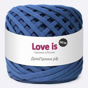 Трикотажная пряжа Love is NEW. Цвет: темный джинс