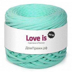 Трикотажная пряжа Love is NEW. Цвет: ментол