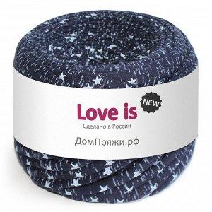 Трикотажная пряжа Love is NEW. Цвет: звездное небо