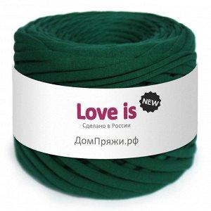 Трикотажная пряжа Love is NEW. Цвет: изумруд