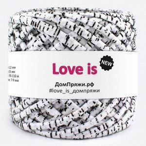 Трикотажная пряжа Love is NEW. Цвет: зебрана