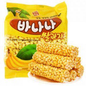 Сладости от LOTTE 🍭 Попкорн Jolly Time🍿 Гранола — Сладости Ю. Корея — Вафли и печенье