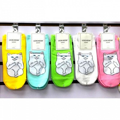 Большие скидки от поставщика 🏷 Заколки — Женские яркие носочки