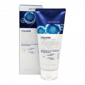 Collagen Water Full Moist Deep Cleansing Foam Ультраувлажняющая пенка с коллагеном