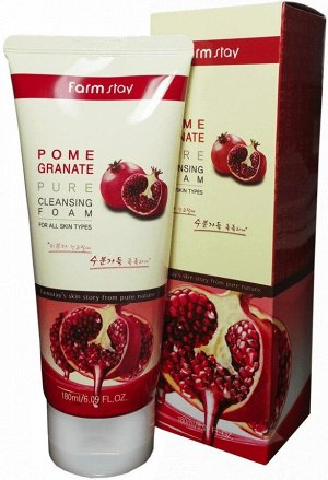 Pomegranate Pure Cleansing Foam Увлажняющая пена для умывания с экстрактом граната