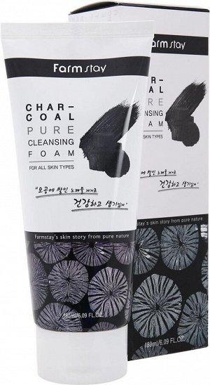 Charcoal Pure Cleansing Foam Пенка с древесным углем