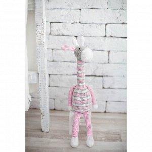 Набор для вязания. Амигуруми. Мягкая игрушка Жирафик Мэлани