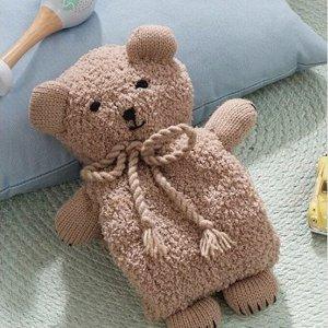 Набор для вязания пледа 50*70см Schachenmayr. Цвет розовый 01035