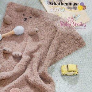 Набор для вязания пледа 50*70см Schachenmayr. Цвет джинсовый 01052