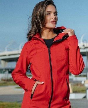 куртка /Куртка из утепленной плащевки. Материал - SOFTSHELL (Софтшелл) ПОЛИАМИД 96% ЭЛАСТАН 4%