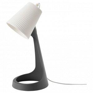 SVALLET СВАЛЛЕТ   Лампа рабочая, темно-серый/белый