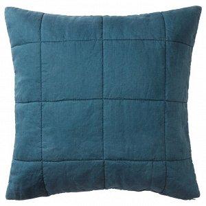 GULVED ГУЛЬВЕД | Чехол на подушку, темно-синий | 65x65 см