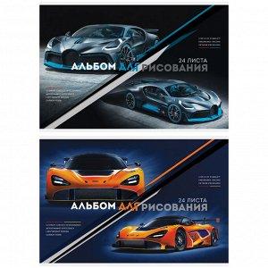 """Альбом для рисования 24л., А4, на скрепке ArtSpace """"Авто. Extreme racing"""""""