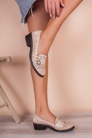 Туфли летние на 37 размер. Натуральная кожа