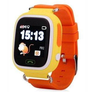 Умные часы детские TD-02 желтые
