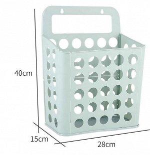 Складная корзина для хранения. Пластик