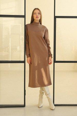 Платье женское 143L9 карамель