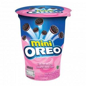 Печенье Oreo mini в стакане Клубника, 61,3 г