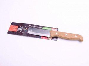 Нож кухонный с деревянной ручкой, 25 см (КН-102)