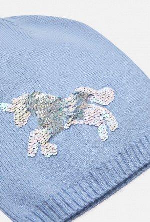 Шапка детская для девочек Chugach голубой